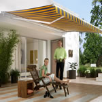Semi Cassetted Awnings